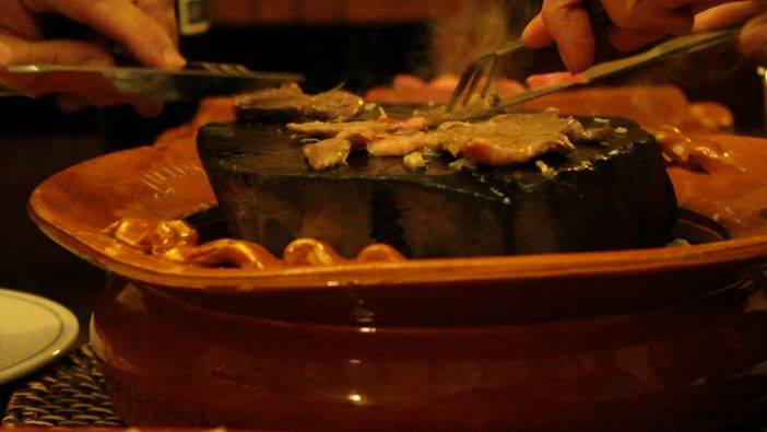 restaurante nou de nou carne a la piedra - Restaurante Nou de Nou en Arenis de Mar - Carne a la Piedra